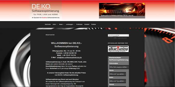 DE.KO.-Softwareoptimierung